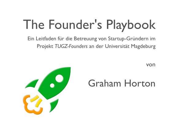 founders playbook deckblatt